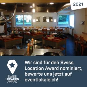 Geben Sie ChuchiArt Ihre Stimme für den Swiss Location Award.
